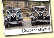 Discount is offered if you book the two cars together