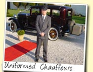 Uniformed, courteous chauffeurs